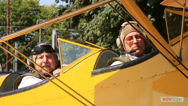 Stearman N54173 - Andreas Hotea and Lee Searles in Cottage Grove-2