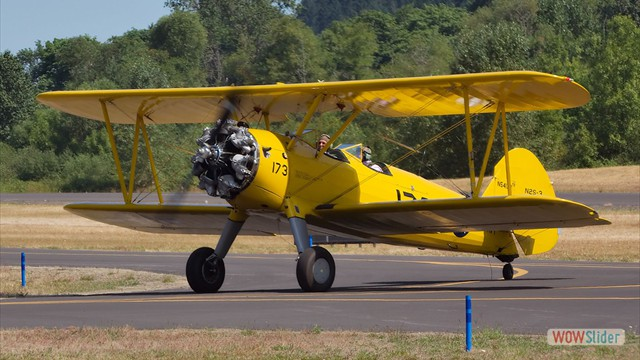 Stearman N54173 - Andreas Hotea and Lee Searles in Cottage Grove-4
